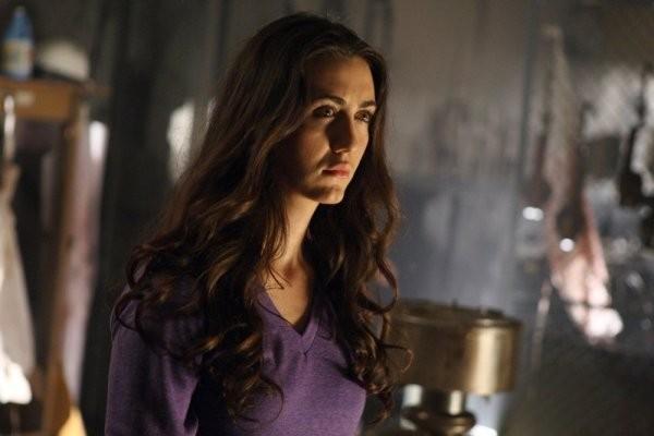 Madeline Zima in una scena di Strange Attractors della quarta stagione di Heroes