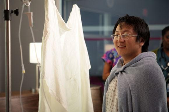 Masi Oka in una scena tratta da Tabula Rasa dalla quarta stagione di Heroes