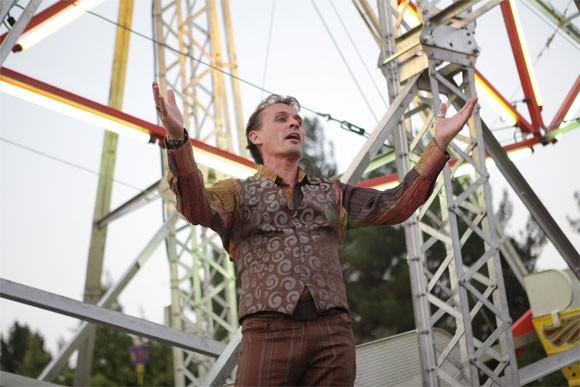 Robert Knepper in una scena di Tabula Rasa dalla quarta stagione di Heroes