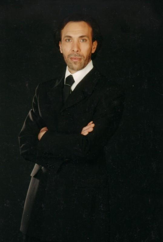 Una fotografia dell'attore Danilo Maria Valli