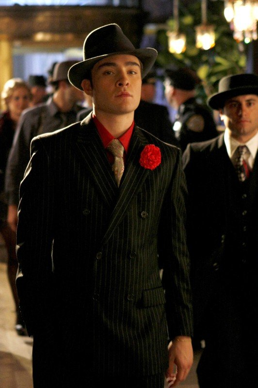 Chuck Bass (Ed Westwick) nell'episodio How to Succeed in Bassness di Gossip Girl