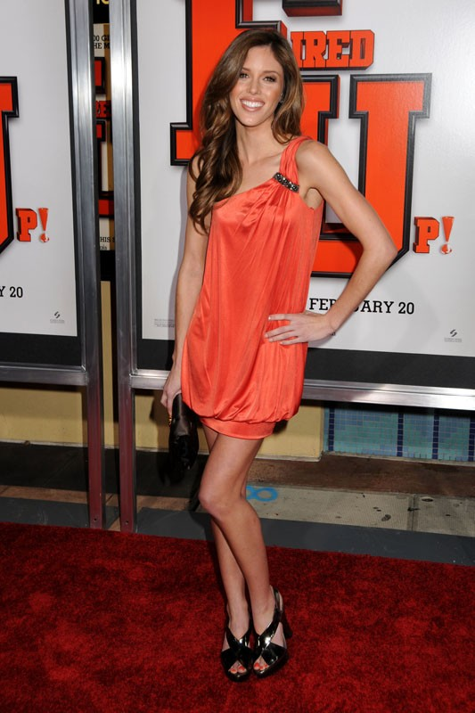 Kayla Ewell alla Los Angeles Premiere di 'Fired Up' il 19 February 2009 in Culver City, California