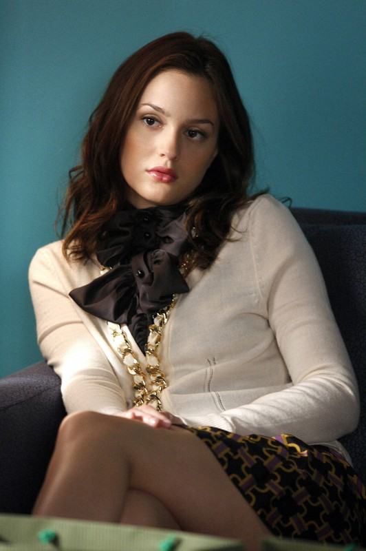 Leighton Meester in un momento dell'episodio How to Succeed in Bassness di Gossip Girl