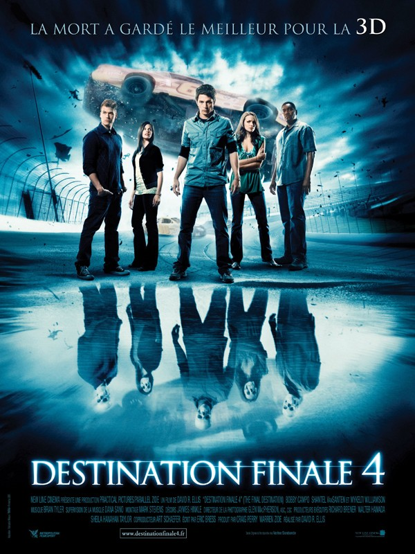 Un poster francese per The Final Destination 3D