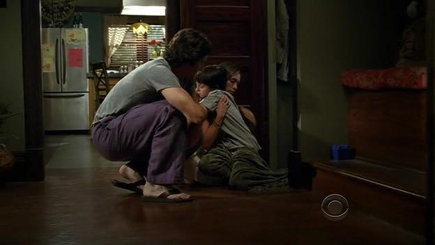 Ghost Whisperer: David Conrad in una sequenza di 'Cause for Alarm', episodio della stagione 5