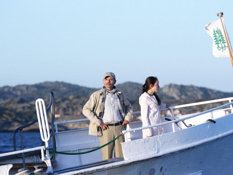 Jean-Pierre Darroussin e Anaïs Demoustier in una scena del film Il viaggio di Jeanne