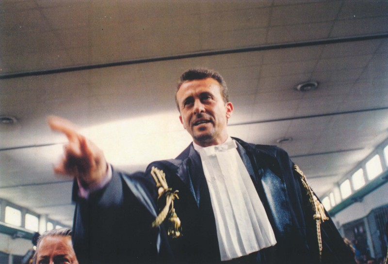 Loris Loddi nel film I Giudici