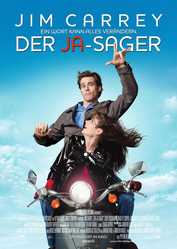 Un poster tedesco del film Yes Man