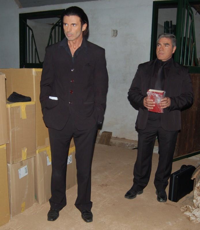 Vittorio Boscolo interpreta Tano Barberi nel film The Fall of Redemption (foto: Francesca Casadei)