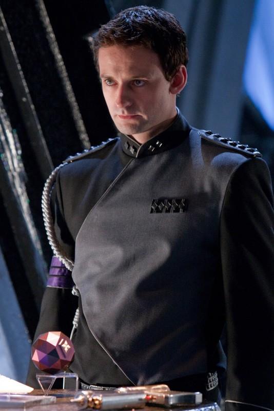 Callum Blue è Zod in una scena dell'episodio Kandor di Smallville