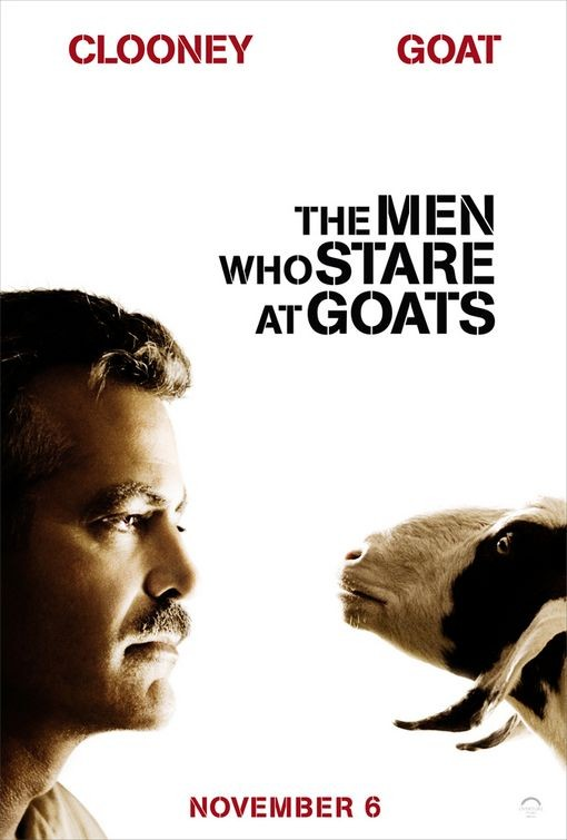 Character Poster per The Men Who Stare at Goats (George Clooney)