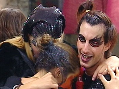 Grande Fratello 10 - Maicol durante la festa di Halloween
