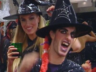 Grande Fratello 10 - Maicol e Sabrina ad Halloween
