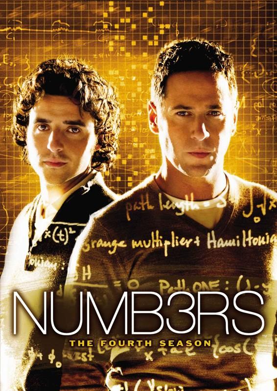 Il poster della quarta stagione di Numb3rs
