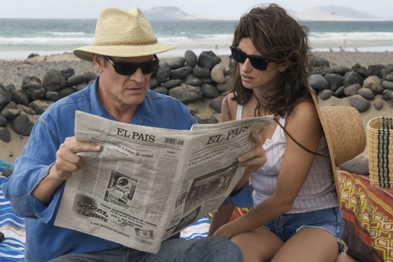 La bella Penelope Cruz in una scena del film Los Abrazos Rotos