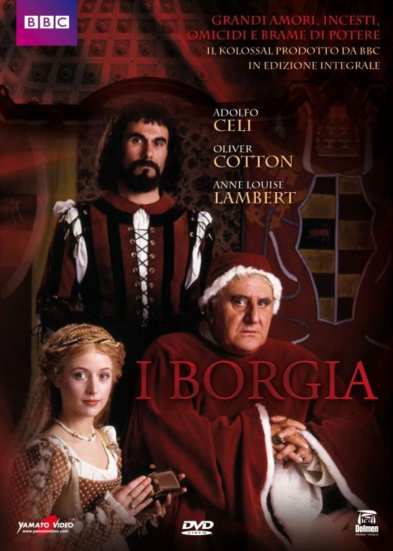 La copertina di I Borgia (dvd)