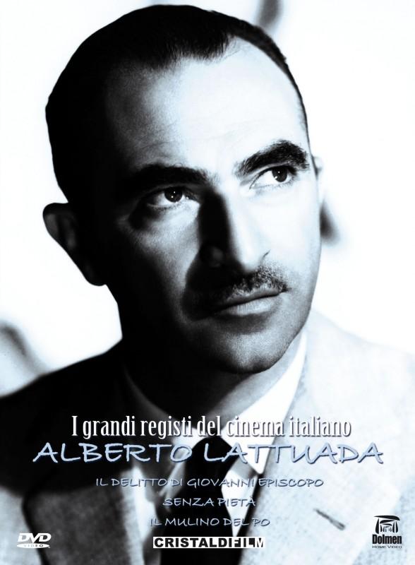 La copertina di I Grandi Registi del Cinema Italiano - Alberto Lattuada (dvd)