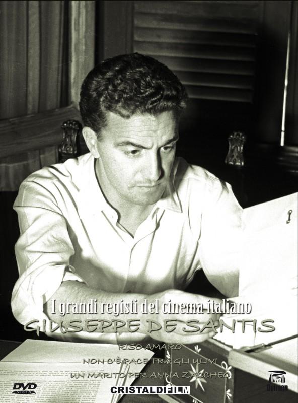 La copertina di I Grandi Registi del Cinema Italiano - Giuseppe De Santis (dvd)