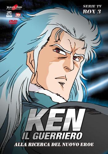 La copertina di Ken il guerriero - Serie TV - Box 3: Alla ricerca del nuovo eroe (dvd)