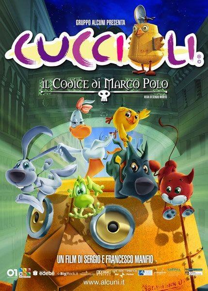 La locandina di Cuccioli - Il codice di Marco Polo