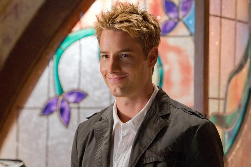 Oliver (Justin Hartley) in una scena dell'episodio Kandor di Smallville