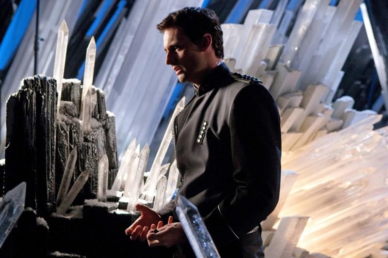 Zod (Callum Blue) in un momento dell'episodio Kandor di Smallville