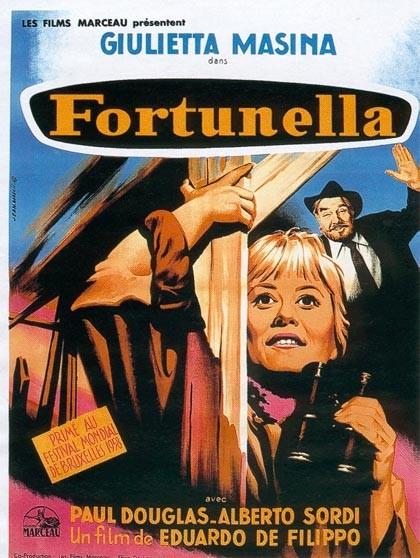 Locandina francese del film Fortunella.