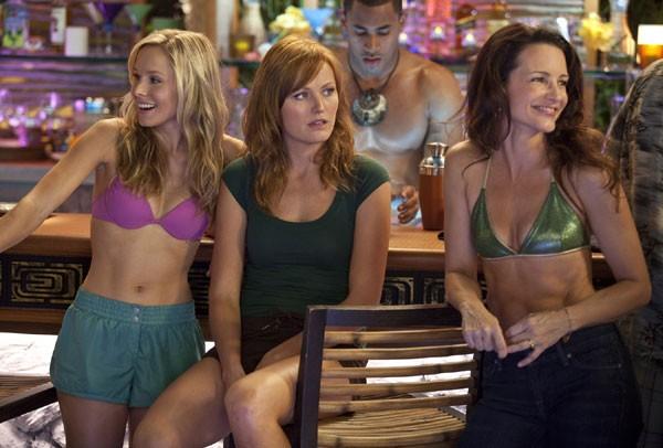 Malin Akerman, Kristin Davis e Kristen Bell nella commedia L'isola delle coppie