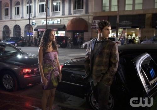 Melrose Place: Jessica Lucas e Michael Rady nell'episodio Cahuenga