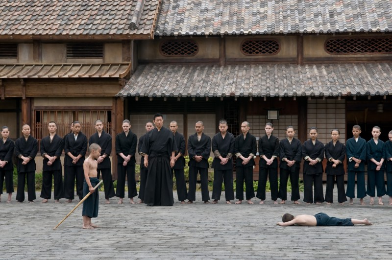 Una immagine del film di arti marziali Ninja Assassin (2009)