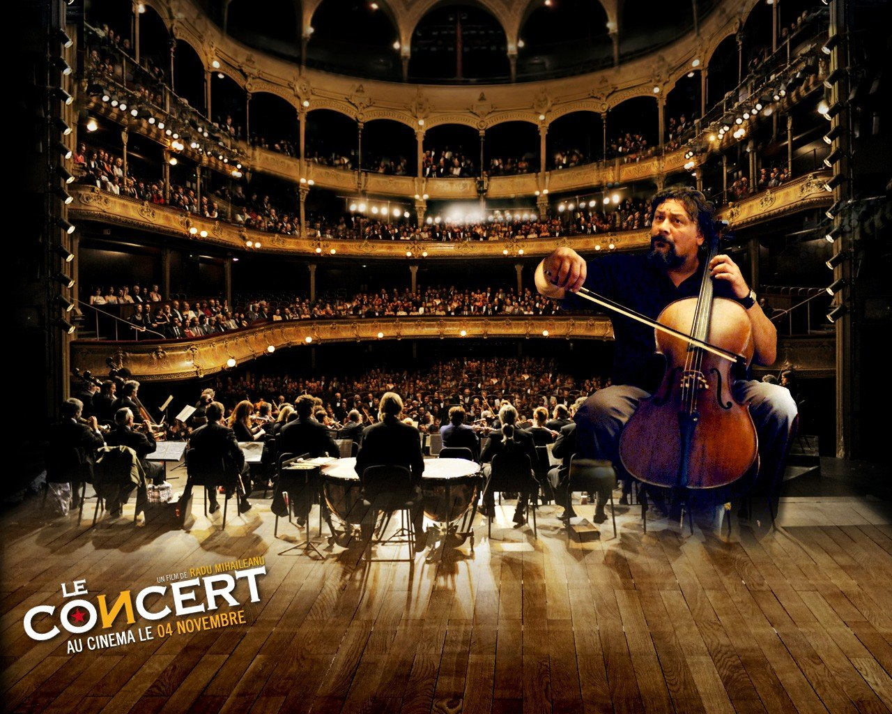 Wallpaper del film Il concerto - 4