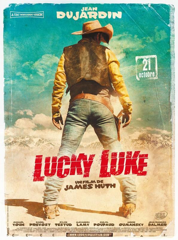 Il poster del film Lucky Luke di James Huth