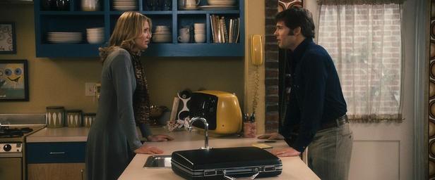 James Marsden con Cameron Diaz in una scena del film The Box