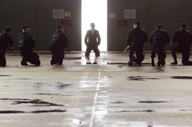 James Marsden in una sequenza di The Box, di Richard Kelly