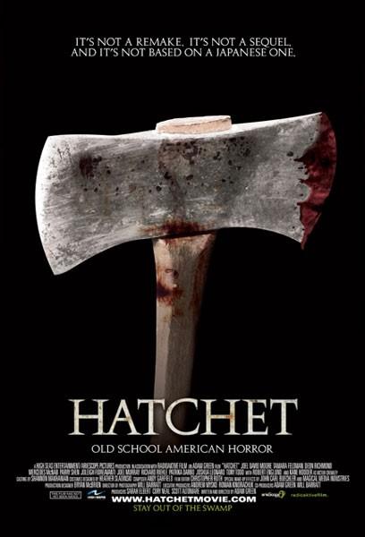 La locandina di Hatchet