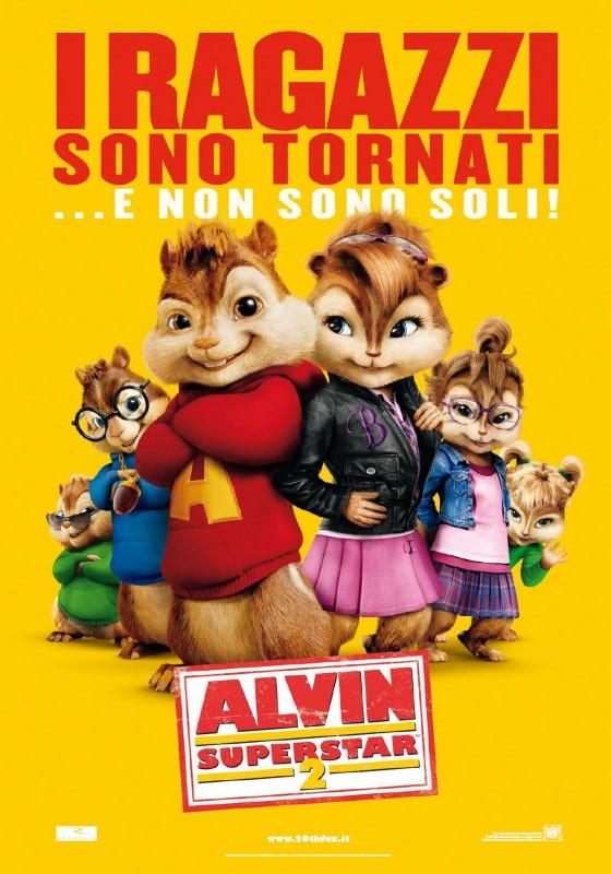 Locandina italiana per Alvin Superstar 2