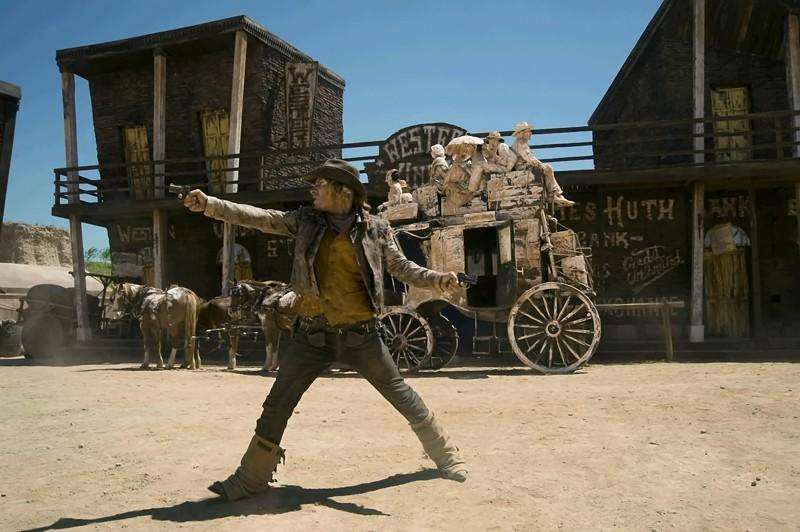 Michaël Youn è Billy The Kid nel film Lucky Luke