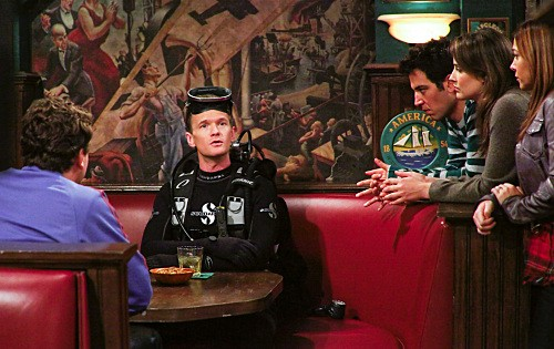 How I Met Your Mother: una scena dell'episodio The Playbook