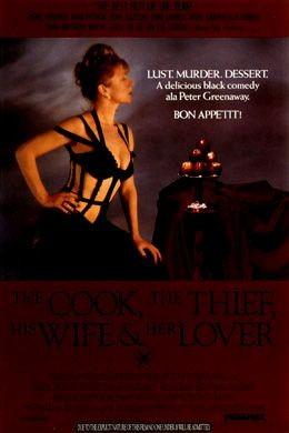 La locandina di Il cuoco, il ladro, sua moglie e l'amante