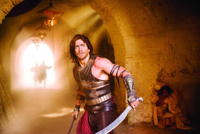 Un'immagine di Jake Gyllenhaal in una scena di Prince of Persia: Sands of Time