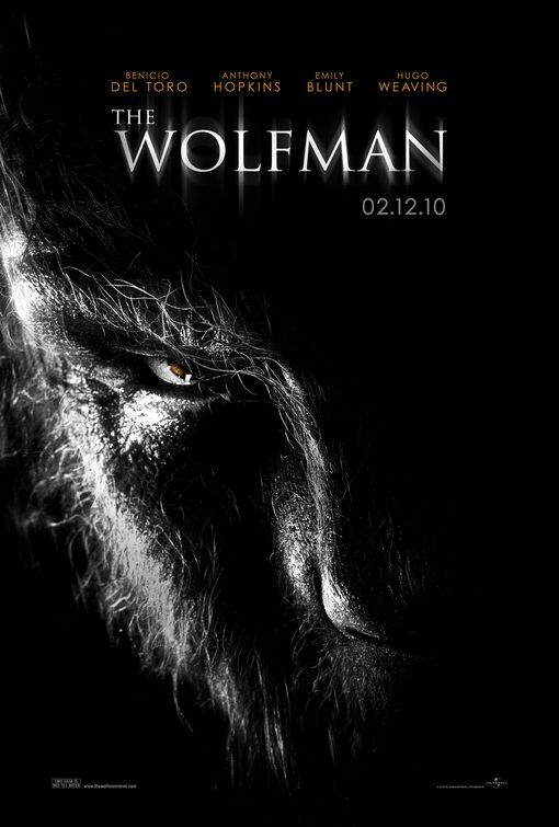 Secondo poster per The Wolfman