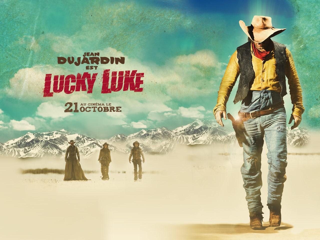 Un wallpaper ufficiale per il film Lucky Luke