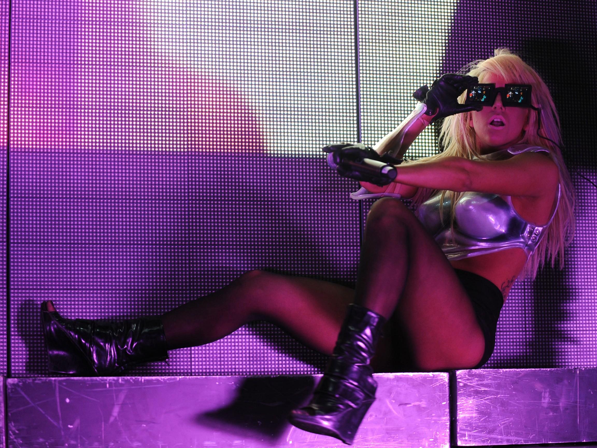 Wallpaper: Lady GaGa durante uno show
