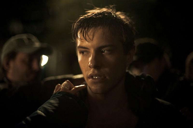Xavier Samuel (Riley) sul set del film The Twilight Saga: Eclipse