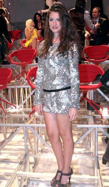 Francesca durante la finale del GF9