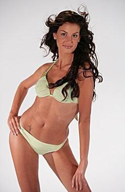 Francesca Fioretti in una foto promo per Miss Italia 2005