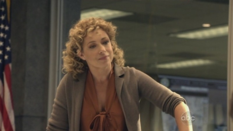 Alex Kingston nell'episodio The Gift di FlashForward