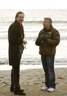 Daniel Day-Lewis sul set del musical Nine