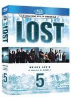 La copertina di Lost - Stagione 5 (blu-ray)