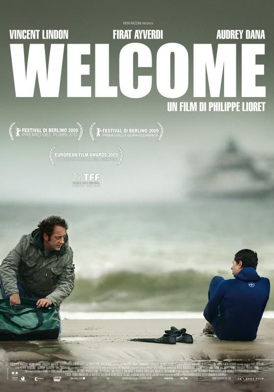 La locandina italiana di Welcome
